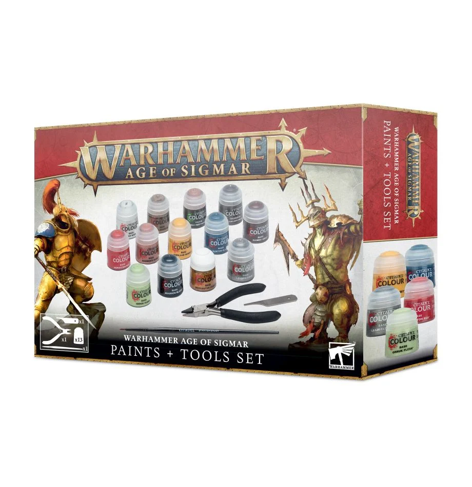 AOS PAINTS + TOOLS SET (3rd Edition)